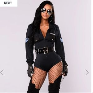 'you better behave' Cop Costume